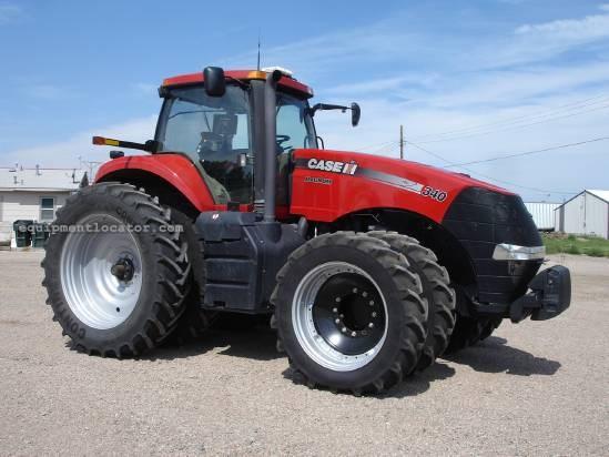 2011 Case IH Magnum MX340, 755 Hrs, 5 Remotes, 3 Pt Quick Tractor For Sale