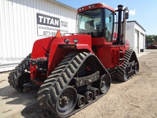 "2004 Case IH Steiger STX500Q - 7233 hrs, 30"", 5 Hyd, HD Drawbar Tractor For Sale"