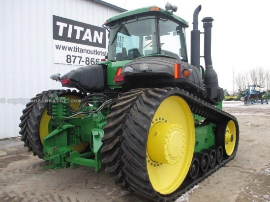 2002 John Deere 9520T, 3620 Hr, PS, 4 Remotes, NEW Tracks/Bogeys Tractor For Sale