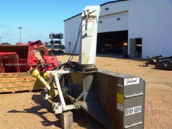 """Inland DD110, 102"""" Blow Width, Dbl Auger, 1000 PTO Snow Blower For Sale"""