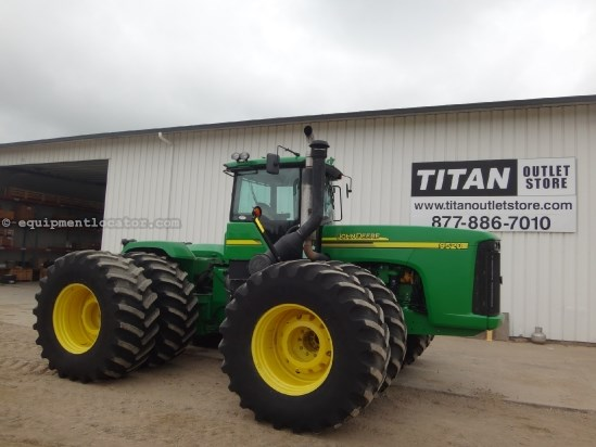 2005 John Deere 9520 - 3618 hrs, 800R38, Full Weight Pkg, 4 hyd Tractor For Sale