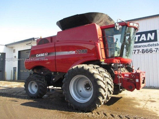 2010 Case IH 7088, UPTIME READY!, 774 Sep Hrs, 4WD, FT Combine For Sale