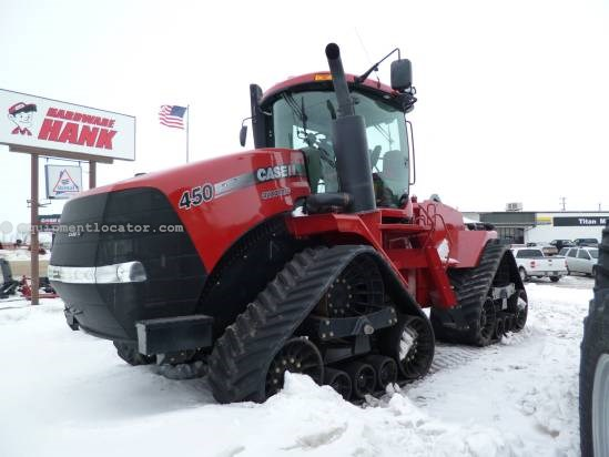 "2011 Case IH STX450Q - 1501 hrs, 30"" Trks, Lux Cab, 360 Lights  Tractor For Sale"