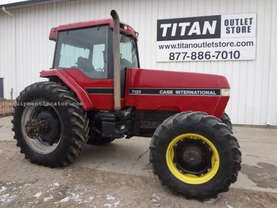 1991 Case IH 7120 - 14,049 hrs, 18.4R42, Dual PTO, PS Tractor For Sale