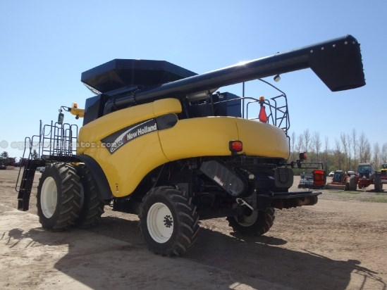 2004 New Holland CR960-UPTIME READY,Sep Hrs 1557,21 ft, 20.8R42 Dls Combine For Sale