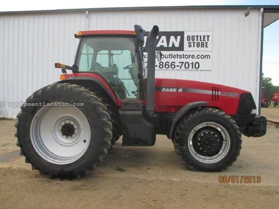 2006 Case IH MX255, 3337 Hr, 4 Remotes, Wts, Dlx Cab  Tractor For Sale