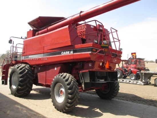 2006 Case IH 2388, 1455 Sep Hrs, UPTIME READY, 4WD, AFX Rotor Combine For Sale