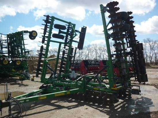 2007 Summers SuperCoulter - 40 ft, Rolling Choppers, Rock Flex Vertical Tillage For Sale