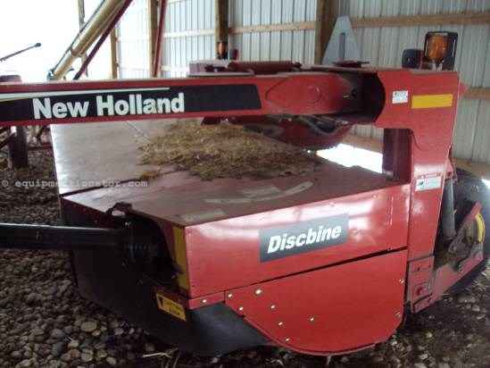 "2008 New Holland 1411 - 10'4"" Cut, Rubber Rollers, Std Hitch Mower Conditioner For Sale"