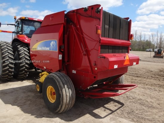 2012 New Holland BR7090 - Xtra Wide PU, NetWrap, 1000 pto Baler-Round For Sale