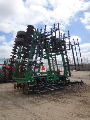 2011 Summers SuperCoulter - 50 ft, Wave - Notched, Hyd Level Vertical Tillage For Sale