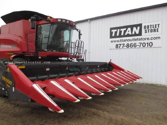 2011 Drago 1222, 12R22, Chopping, 7010/8010/7120/8120 Header-Corn For Sale