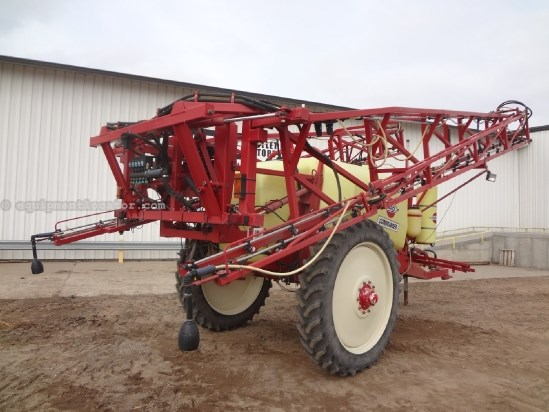 1999 Hardi Commander - 110 ft, 1200 gal, Foam Markers, 320R46 Sprayer-Pull Type For Sale