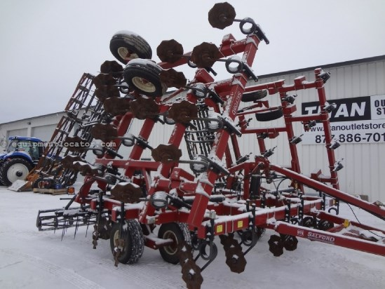 2009 Salford 570 - 36 ft, Harrow, Rolling Baskets Vertical Tillage For Sale