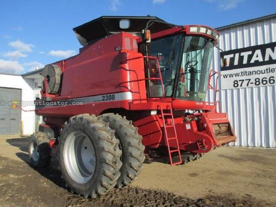 2005 Case IH 2388, 1656 Sep Hr, UPTIME READY!, RT Combine For Sale