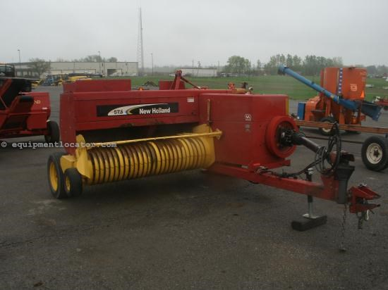 Baler-Square For Sale:  2006 New Holland 575