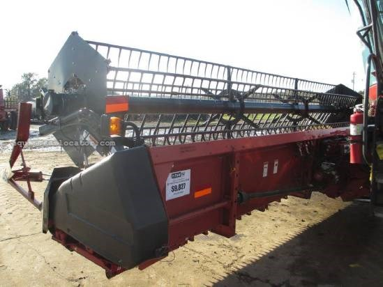 2002 Case IH 1020, 25', 2166/2188/2366/2388, HHC, Fore/Aft, Air Header-Flex For Sale