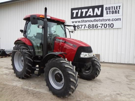 2009 Case IH Maxxum 110 Tractor For Sale