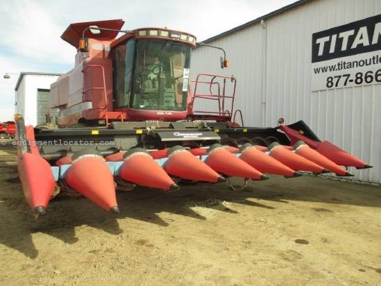 2004 Geringhoff RD800B, 8R30, Knife Rolls, Roto-Disk Header-Corn For Sale