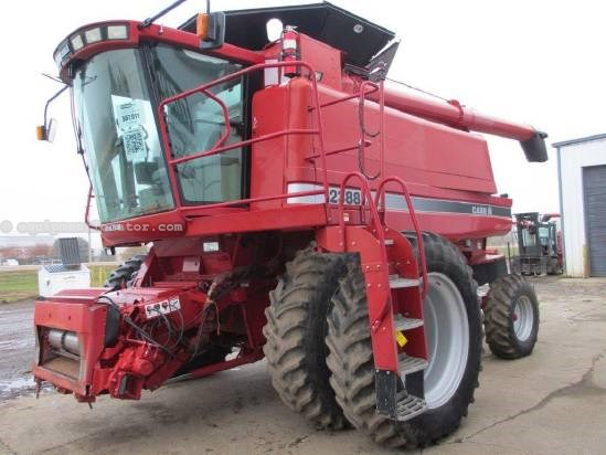 2003 Case IH 2388, 1754 Sep Hr, FT, AHH, Chopper, Spreader Combine For Sale