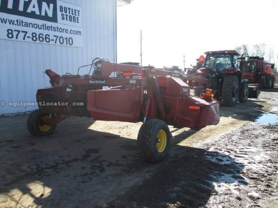 2007 New Holland 1441, 16', Center Pivot Hitch, Conditioning Rolls Mower Conditioner For Sale
