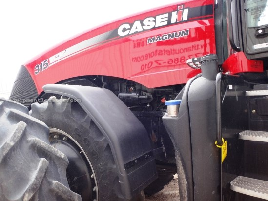 2012 Case IH Magnum 315, Warranty*, FRONT SUSPENSION, Q-HITCH Tractor For Sale