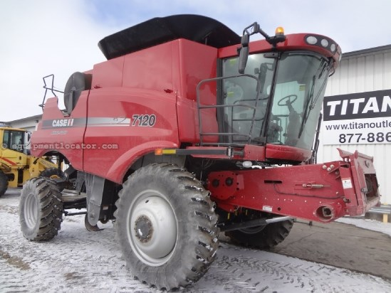 2011 Case IH AF7120 - Sep Hrs 728, Duals, RT, FT, AutoSteer Combine For Sale