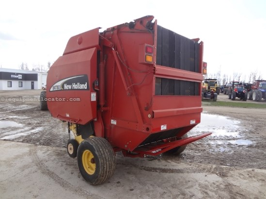 2005 New Holland BR780 - Autowrap, 1000 pto, Hyd PU Baler-Round For Sale