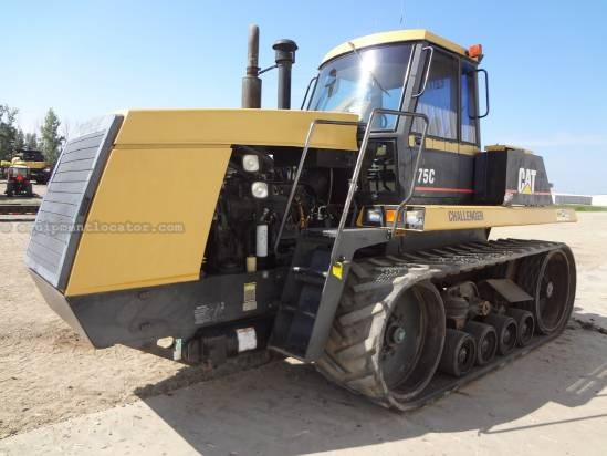 "1993 Caterpillar 75C - 6601 hrs, 27"" Tracks, 4 hyd, PS Tractor For Sale"