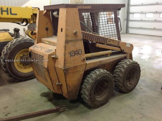 1992 Case 1840, 2247 Hrs, 50 HP, Work Lights, Heater, ROPS Skid Steer For Sale
