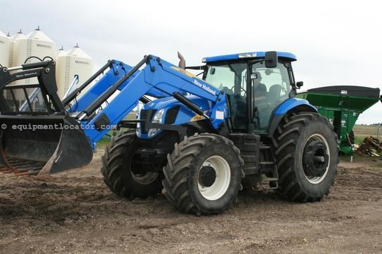 2008 New Holland T7030 Tractors For Sale at EquipmentLocator com