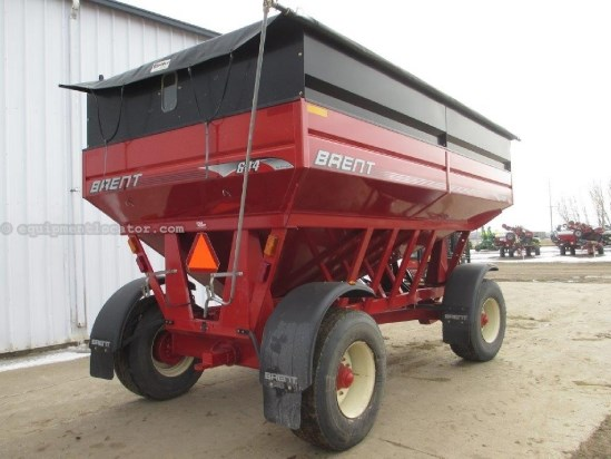 2005 Brent 644, Roll Top, Fenders, Lights Gravity Box For Sale