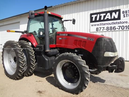 2008 Case IH Magnum MX245 - 1430 hrs, 320R54 Duals, 5 hyd, 3pt Tractor For Sale
