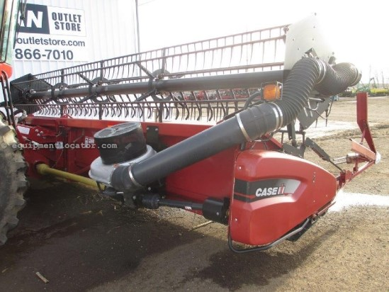 2008 Case IH 2020, 30', FT, Air Reel,  6088/7088/7010/8010 Header-Flex For Sale
