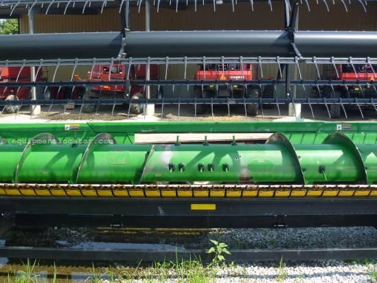 2010 John Deere 635,35', 9760/9860/9670/9770/9870,Contour, HHC  Header-Flex For Sale