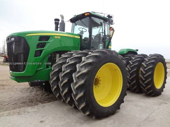 2010 John Deere 9530, Warranty*, 520/46 TRIPLES, 12,000# Wgts Tractor For Sale