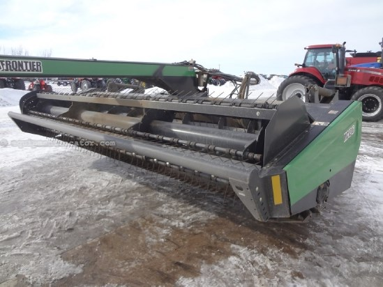 2003 Frontier MC1216 - 16 ft, Steel Rolls, Swing Tongue Mower Conditioner For Sale