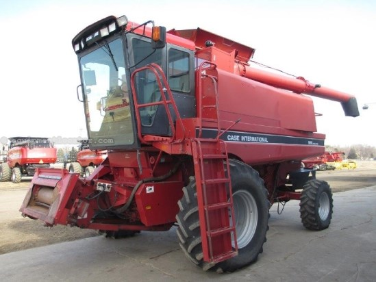 1994 Case IH 1666, 4126 Hr,RT, Chopper, Spreader  Combine For Sale