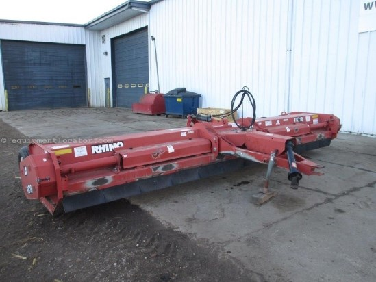 2001 Rhino RC18,18', Pull Type, 1000 PTO, Y Blades Stalk Chopper For Sale