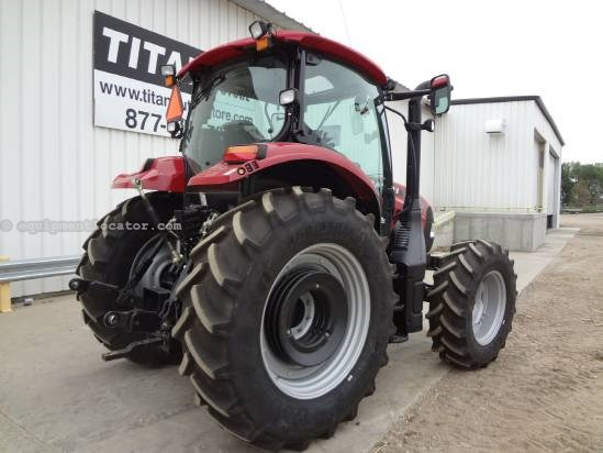 2012 Case IH Maxxum 120 Pro, 256 hrs, 4 hyd, MFD, CAH Tractor For Sale