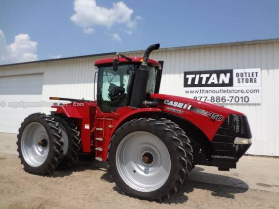 2011 Case IH Steiger STX350HD-1702 hrs, PTO, 380R54 Duals Tractor For Sale