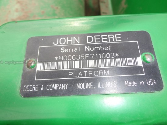 2005 John Deere 635F - 35 ft, FT (9660,9760,9670,9770,9870) Header-Flex For Sale