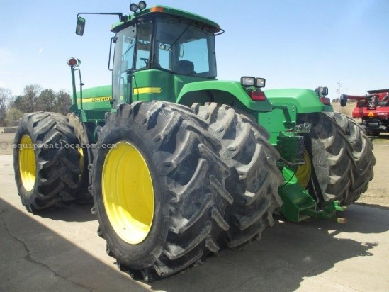 1998 John Deere 9400 - 6683 hrs, 710 Duals, 4 hyd, PowerShift Tractor For Sale
