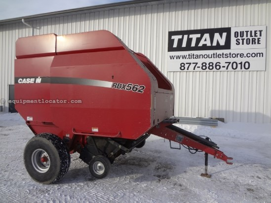2004 Case IH RBX562 - 1000 pto, Hyd PU, AutoWrap, Kicker Baler For Sale