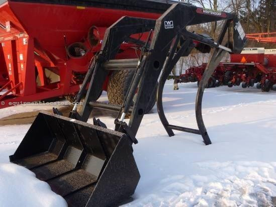 "Westendorf XTA700,96"" Bucket, Quick Attach, Remote Front End Loader Attachment For Sale"