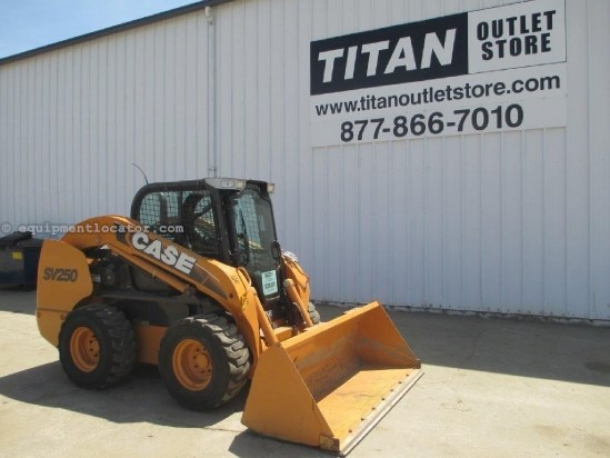"2011 Case SV250, 1416 Hr, Hand Controls, Aux Hyd,84"" Bucket  Skid Steer For Sale"