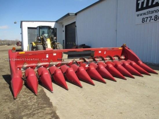 2007 Case IH 2412, 12R20,7010/7088/8010, FT, Hyd Dk Plates Header-Corn For Sale