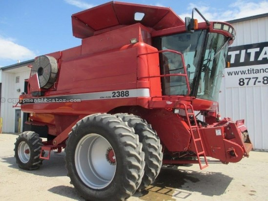 2005 Case IH 2388, UPTIME READY!,1291 Sep Hr,Spec Rotor,Chopper Combine For Sale