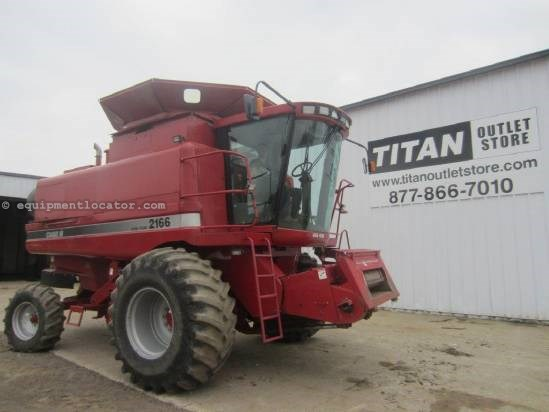 1996 Case IH 2166 Combine For Sale