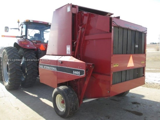 1992 Case IH 8465, Hyd PU Lift, Auto Twine Wrap, 540 PTO Baler For Sale